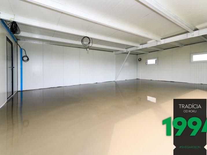 Der Boden in einer individuellen GARDEON Garage