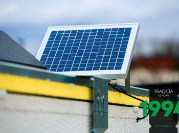 Solarantrieb an der Motorradgarage von GARDEON