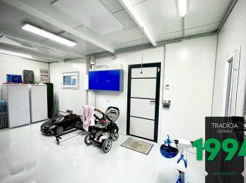 GARDEON: Der Innenraum einer isolierten Garage