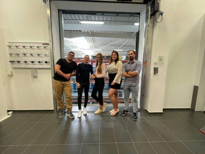 Das 1. GARDEON-Team in Hörmann