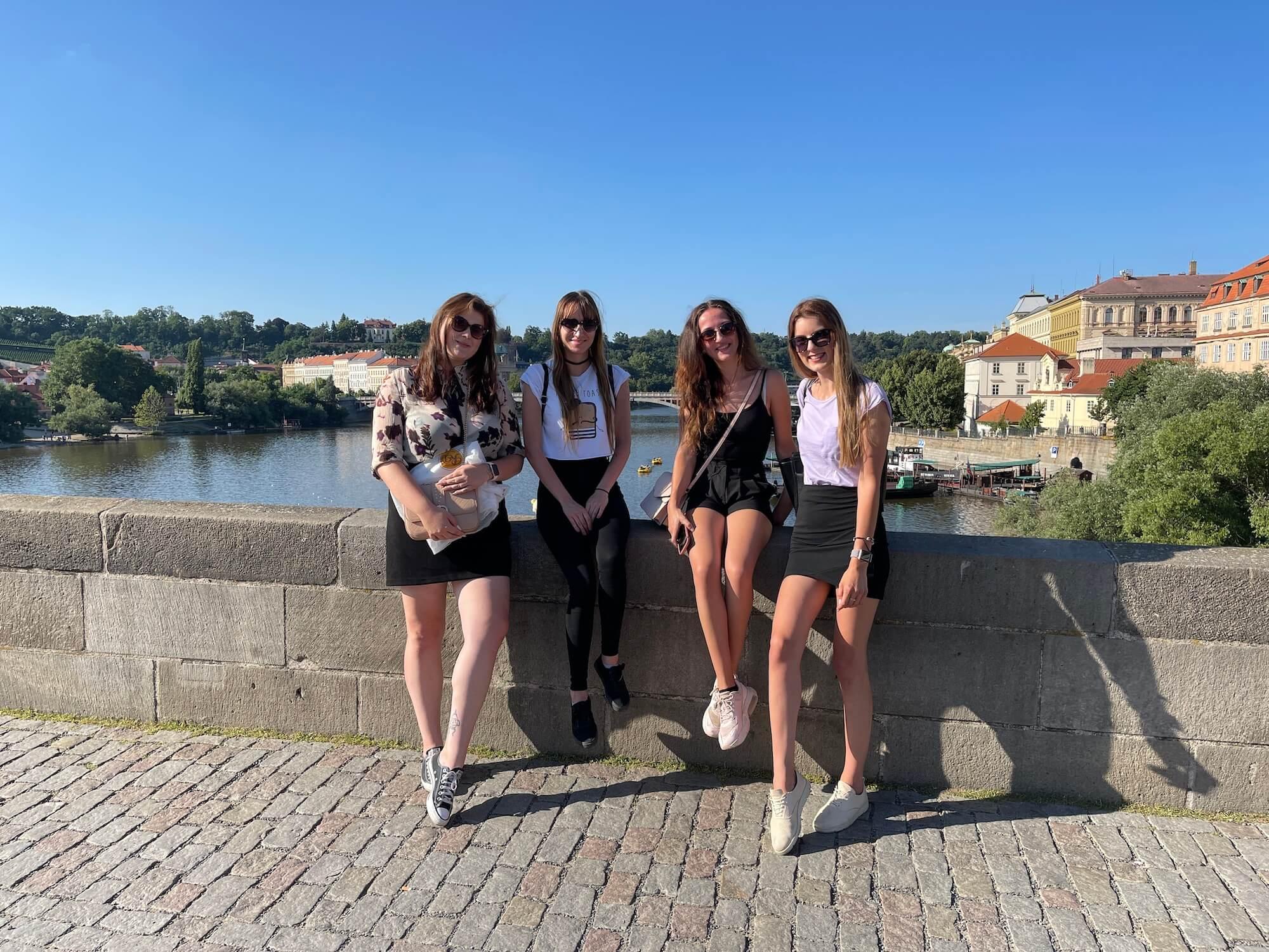 Die GARDEON Mädels in Prag