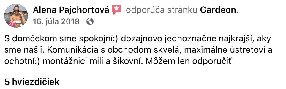 FB-Bewertung, Frau Pajchortova