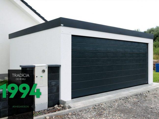 Die GARDEON Garage für 2 PKWs