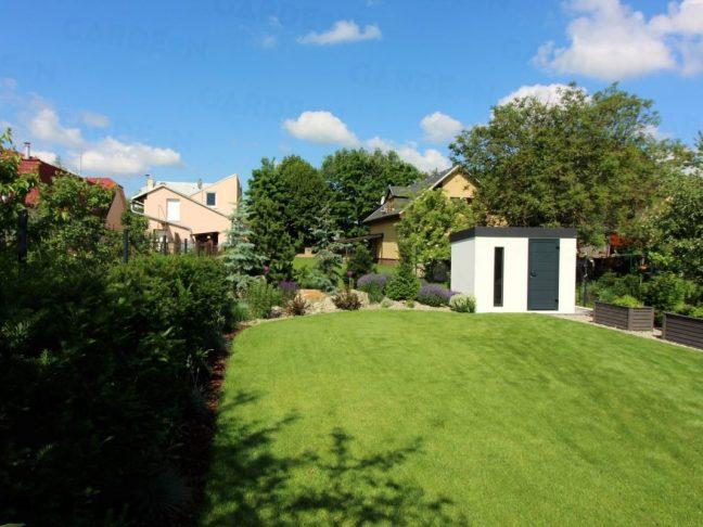 Weißes Gartenhaus von GARDEON