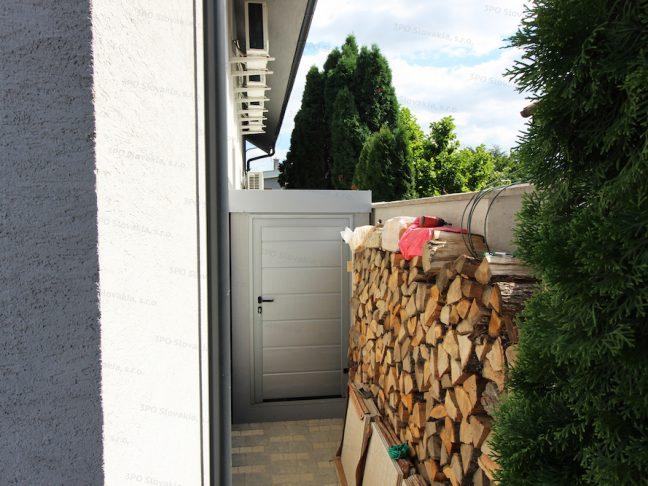 Ein atypisches Gartenhaus beim Holz