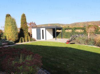 Ein Gartenhaus als ein Lager