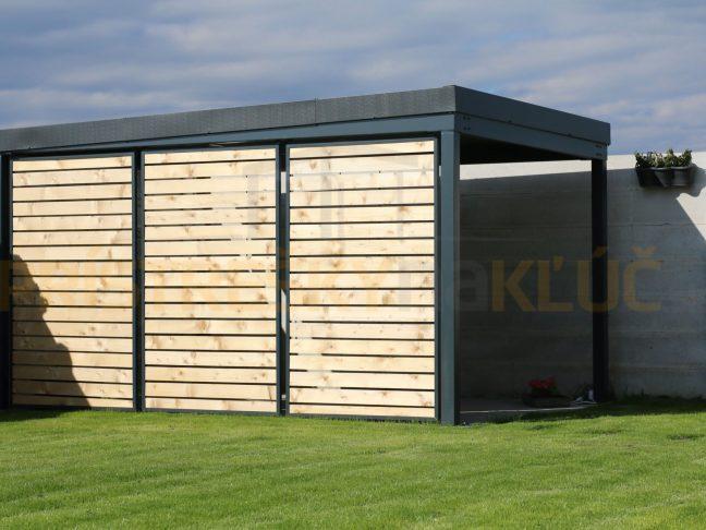 Die Design-Holzausfüllungen für die Seitenwände