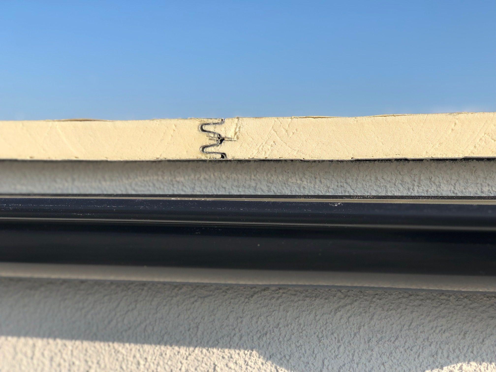 Die Verbindung eines isolierten Daches - THP Sandwich