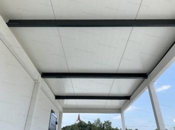 Dachträger bei einem isolierten Dach