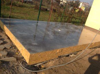 Betonplatte