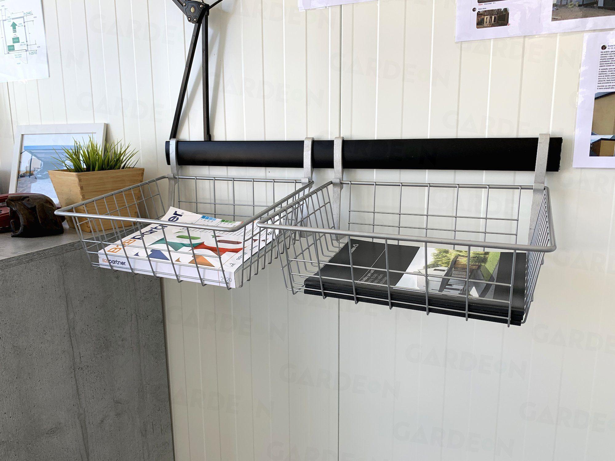 Die Organisation des Gartenhäuschens
