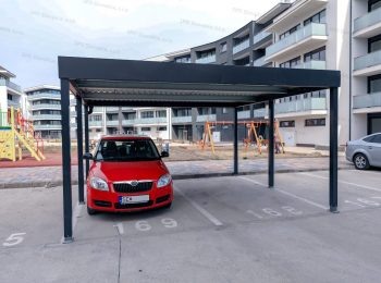 Carport für 2 Autos